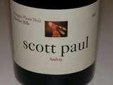 Oregon Pinot noir 2008 Audrey - Scott Paul Winery à Carlton Oregon Willamette Valley