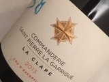 Commanderie Saint Pierre La Garrigue , La Clape Blanc 2013