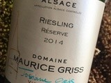 Maurice Griss Riesling Réserve 2014