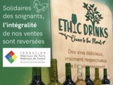 Ethic Drinks, la Start-Up Bordelaise soutient les personnels soignants, en reversant à la Fondation des Hôpitaux de France