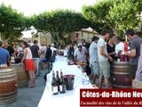 Gigondas sur Tables 2013 (1) : les accords mets-vins