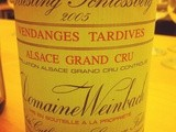 Alsace Grand Cru – Riesling Schlossberg – Domaine Weinbach –  Vendanges tardives – 2005