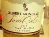 États-Unis – Californie – Robert Mondavi – Twin Oaks – Chardonnay – 2012