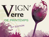 Save the date Vign'o Verre printemps 2020